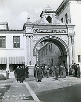 1937 Paramount Studios front gate