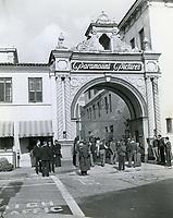 1937 Paramount Studios front gate