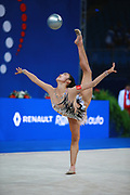 Zhao Yating was born in may 12, 2001 in Shanxi, she is a Chinese individual rhythmic gymnast.<br /> At the 2017 World Championships in Pesaro finishing 21st in the individual All-Around.