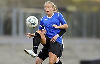 Fotball<br /> Norge<br /> 04.05.2011<br /> Foto: Morten Olsen, Digitalsport<br /> <br /> Trening Norge A kvinner<br /> Nadderud Stadion<br /> Internkamp - Norge Blå mot Norge Hvit<br /> <br /> Lene Mykjåland