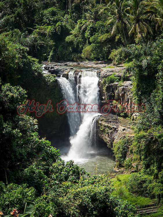 Tegenungan Waterfall in Gianyar, Bali.