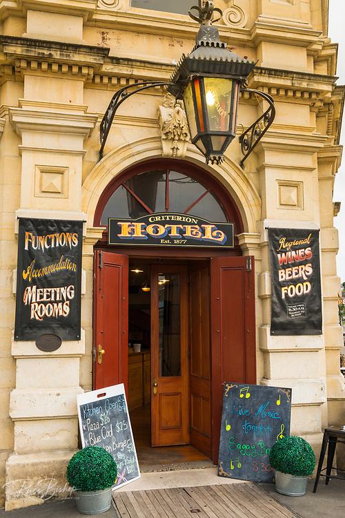 The Criterion Hotel, Oamaru, Otago, South Island, New Zealand