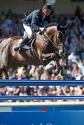 Hurel Jerome, (FRA), Quartz Rouge<br /> BMO Nations Cup<br /> Spruce Meadows Masters - Calgary 2015<br /> © Hippo Foto - Dirk Caremans<br /> 12/09/15