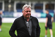 AFC Wimbledon Manager Wally Downes ahead of the EFL Sky Bet League 1 match between Luton Town and AFC Wimbledon at Kenilworth Road, Luton, England on 23 April 2019.