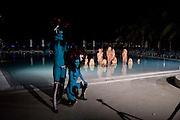 "9 BEHIND) MODELS PERFORMING VANESSA BEECHCROFT INSTALLATION, Neville Wakefield and Playboy host ÒNude as MuseÓ evening art salon. Standard Hotel.  Miami. 4 December 2010. -DO NOT ARCHIVE-© Copyright Photograph by Dafydd Jones. 248 Clapham Rd. London SW9 0PZ. Tel 0207 820 0771. www.dafjones.com.<br /> 9 BEHIND) MODELS PERFORMING VANESSA BEECHCROFT INSTALLATION, Neville Wakefield and Playboy host ""Nude as Muse"" evening art salon. Standard Hotel.  Miami. 4 December 2010. -DO NOT ARCHIVE-© Copyright Photograph by Dafydd Jones. 248 Clapham Rd. London SW9 0PZ. Tel 0207 820 0771. www.dafjones.com."