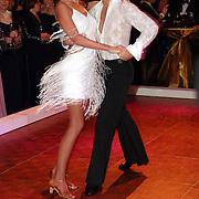 NLD/Amsterdam/20051128 - Uitreiking Beau Monde Awards 2005, dancing with the stars, Irene van Laar en Marcus van Teylingen