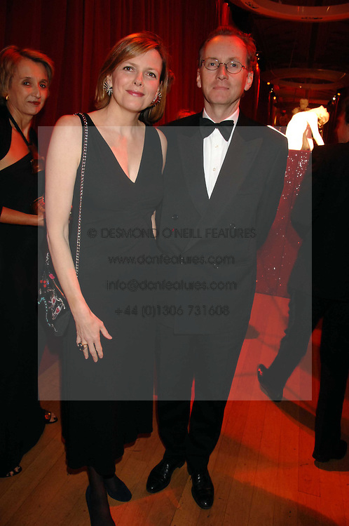 The EARL & COUNTESS OF WOOLTON at a dinner held at the Natural History Museum to celebrate the re-opening of their store at 175-177 New Bond Street, London on 17th October 2007.<br /><br />NON EXCLUSIVE - WORLD RIGHTS