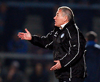 Peter Taylor Manager of Wycombe Wanderers Wycombe Wanderers Vs Rotherham  United at Adams Park High Wycombe  Football League Div 2<br /> 23/02/2009. Credit Colorsport  / Kieran Galvin
