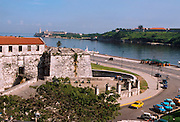 CUBA, HAVANA, HABANA VIEJA Castillo Real de la Fuerza, El Morro