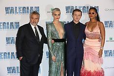 Paris: Valerian Premiere - 25 July 2017