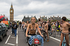 2015-06-13 World Naked Bike Ride comes to London