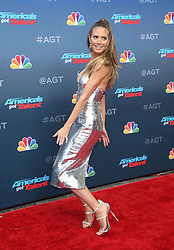 PASADENA, CA - MARCH 12: Phoenix Chi Gulzar and Mel B at America's Got Talent Red Carpet Kickoff at The Pasadena Civic Auditorium in Pasadena, California on March 12, 2018. 12 Mar 2018 Pictured: Heidi Klum. Photo credit: FS/MPI/Capital Pictures / MEGA TheMegaAgency.com +1 888 505 6342