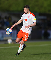 Blackpool's Elliot Embleton<br /> <br /> Photographer Rob Newell/CameraSport<br /> <br /> Sky Bet League One Play-Off Semi-Final 1st Leg - Oxford United v Blackpool - Tuesday 18th May 2021 - Kassam Stadium - Oxford<br /> <br /> World Copyright © 2021 CameraSport. All rights reserved. 43 Linden Ave. Countesthorpe. Leicester. England. LE8 5PG - Tel: +44 (0) 116 277 4147 - admin@camerasport.com - www.camerasport.com