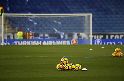 December 22, 2017 - Barcelona, Spain - La Liga balls before the match between RCD Espanyol and Atletico de Madrid, in Barcelona, on December 22, 2017. Photo: Joan Valls/Urbanandsport/Nurphoto  (Credit Image: © Joan Valls/NurPhoto via ZUMA Press)