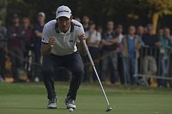 October 13, 2017 - Monza, Italy - Edoardo Molinari of Italy on Day One of the Italian Open at Golf Club Milano  (Credit Image: © Gaetano Piazzolla/Pacific Press via ZUMA Wire)