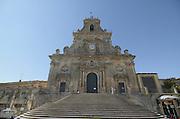 Chiesa di san Sebastiano, Palazzolo Acreide, on the Monti Iblei, Province of Syracuse, Sicily, Italy, July 2006