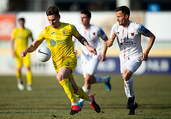 Gregor Sikosek of Domzale during football match between NK Domzale and NK CB24 Tabor Sezana in 22nd Round of Prva liga Telekom Slovenije 2020/21, on February 21, 2021 in Sports park Domzale, Slovenia. Photo by Vid Ponikvar / Sportida