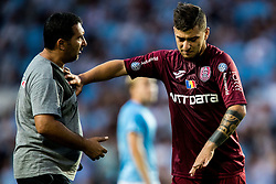 August 1, 2018 - MalmÅ, SVERIGE - 180801 Giuseppe De Luca of Cluj during the UEFA Champions League qualifying match between MalmÅ¡ FF and Cluj on August 1, 2018 in MalmÅ¡..Photo: Mathilda Ahlberg / BILDBYRN / Cop 178  (Credit Image: © Mathilda Ahlberg/Bildbyran via ZUMA Press)