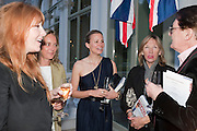 CHARLOTTE TILBURY; TINA CUTLER;  JANE GOTSCHALK;  PATSY TILBURY; BARRY POWERS, Imogen Edwards-Jones - book launch party for ' Hospital Confidential' Mandarin Oriental Hyde Park, 66 Knightsbridge, London, 11 May 2011. <br />  <br /> -DO NOT ARCHIVE-© Copyright Photograph by Dafydd Jones. 248 Clapham Rd. London SW9 0PZ. Tel 0207 820 0771. www.dafjones.com.