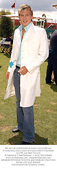MR JACOBI ANSTRUTHER-GOUGH-CALTHORPE son of Lady Mary-Gay Curzon at a polo match in Berkshire on 27th July 2003.PLU 310