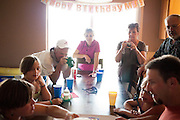 MJ's first birthday party