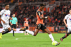 October 24, 2017 - Lorient, France - 11 Faiz SELEMANI  (Credit Image: © Panoramic via ZUMA Press)
