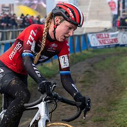 2020-01-01 Cycling: dvv verzekeringen trofee: Baal: Annemarie Worst