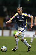 Kevin McNaughton of Cardiff City in action. Coca cola championship, Cardiff City v Nottingham Forest at Ninian Park in Cardiff on Sat 31st Jan 2009..pic by Andrew Orchard, Andrew Orchard sports photography,