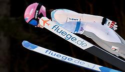 February 7, 2019 - Ljubno, Savinjska, Slovenia - Barbora Blazkova of Czech Republic competes on qualification day of the FIS Ski Jumping World Cup Ladies Ljubno on February 7, 2019 in Ljubno, Slovenia. (Credit Image: © Rok Rakun/Pacific Press via ZUMA Wire)