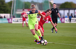Jodie Brett of Bristol City Women competes with Laura Coombs of Liverpool Ladies - Mandatory by-line: Paul Knight/JMP - 20/05/2017 - FOOTBALL - Stoke Gifford Stadium - Bristol, England - Bristol City Women v Liverpool Ladies - FA Women's Super League Spring Series