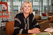 DEN HAAG, 2-12-2020, Centrale Bibliotheek<br /> <br /> Koningin Maxima opent in Den Haag het Nationaal Jaar Vrijwillige Inzet 2021. Onder de naam Mensen maken Nederland vragen vrijwilligersorganisaties landelijk meer aandacht voor de verbindende waarde van vrijwilligerswerk. Koningin Máxima verricht de openingshandeling van het Nationaal Jaar Vrijwillige Inzet 2021 tijdens een talkshow waarin diverse gasten hun visie geven op vrijwilligerswerk en over hun ervaringen vertellen. <br /> <br /> Queen Maxima opens the National Year of Voluntary Deployment 2021 in The Hague. Under the name People make the Netherlands, voluntary organizations are demanding national attention for the connecting value of voluntary work. Queen Máxima will perform the opening act of the National Year of Voluntary Deployment 2021 during a talk show in which various guests give their vision on volunteering and tell about their experiences.<br /> <br /> Op de foto: Irene Moors