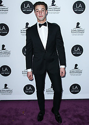 LOS ANGELES, CA, USA - JANUARY 23: Los Angeles Art Show 2019 Opening Night Gala held at the Los Angeles Convention Center on January 23, 2019 in Los Angeles, California, United States. 23 Jan 2019 Pictured: Cameron Dallas. Photo credit: Xavier Collin/Image Press Agency / MEGA TheMegaAgency.com +1 888 505 6342