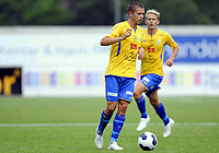 Fotball<br /> 09.08.2014<br /> Oddsenligaen / Andredivisjon<br /> Asker v Jerv 3:3<br /> Foto: Morten Olsen, Digitalsport<br /> <br /> Morten Benestad (7) - Jerv
