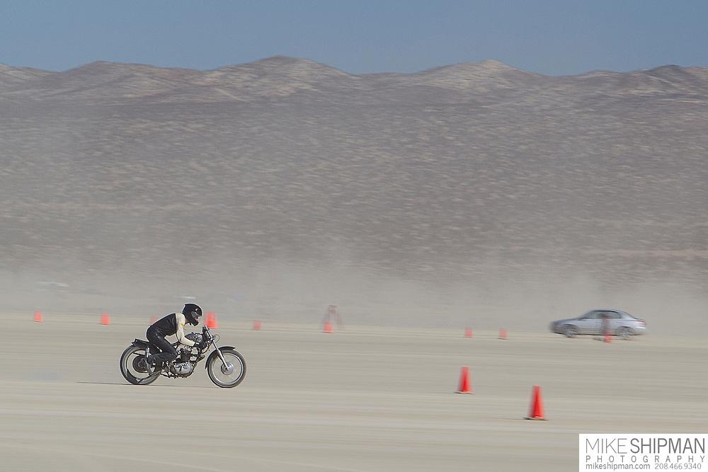 Wheel Tramps TR 25, 1198B, eng 250CC, body A-PF, driver Matt Weidmann, 82.472 mph, record 102.000