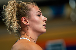 Lieke Klaver in action on the / during AA Drink Dutch Athletics Championship Indoor on 20 February 2021 in Apeldoorn.