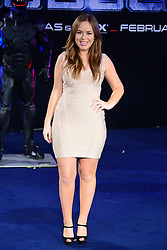 Tanya Burr attends The World Premiere of 'Robocop' UK film premiere, BFI IMAX, London, United Kingdom. Wednesday, 5th February 2014. Picture by Nils Jorgensen / i-Images