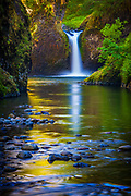 Punchbowl Falls on Eagle Creek, Oregon