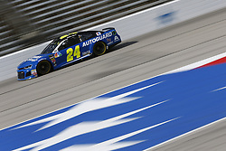 November 3, 2018 - Ft. Worth, Texas, United States of America - William Byron (24) takes to the track to practice for the AAA Texas 500 at Texas Motor Speedway in Ft. Worth, Texas. (Credit Image: © Justin R. Noe Asp Inc/ASP via ZUMA Wire)