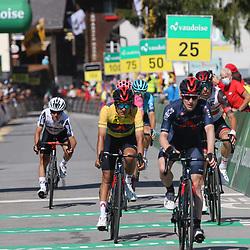 ANDERMATT (SUI) CYCLING<br /> Tour de Suisse stage 8<br /> Edward Dunbar