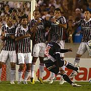 Vasco player Carlos Alberto takes a free kick during the Fluminense FC V CR Vasco da Gama Futebol Brasileirao League match at the Maracana, Jornalista Mário Filho Stadium, Rio de Janeiro,  Brazil. 22nd August 2010. Photo Tim Clayton.