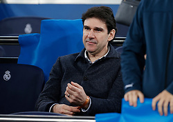 ex player Aitor Karanka during the UEFA Champions League round of 16 first leg match Real Madrid v Manchester City at Santiago Bernabeu stadium on February 26, 2020 in Madrid, Sdpain. Real was defeated 1-2. Photo by Manu R.B.AlterPhotos/ABACAPRESS.COM