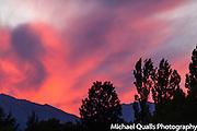 Sunset over Buttermilk Hills