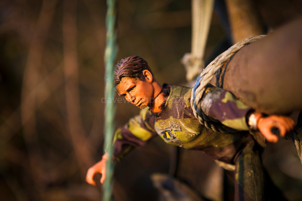 Action Man, abandoned toys washed up on beach