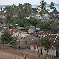 The city of Musoma on Lake Victoria, northern Tanzania