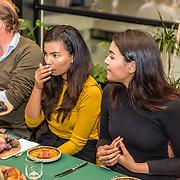 NLD/Amsterdam/20170421 - Boekpresentatie Raymann zoekt Raad, dochter Jahlisa en Melody