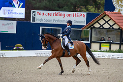 TELDE Minna (SWE), Isac<br /> Hagen - Horses and Dreams 2019<br /> Grand Prix de Dressage CDI4* Special Tour<br /> 27. April 2019<br /> © www.sportfotos-lafrentz.de/Stefan Lafrentz