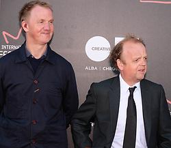 Edinburgh International Film Festival, Saturday 24th June 2017<br /> <br /> KALEIDESCOPE UK PREMIERE<br /> <br /> Rupert Jones and Toby Jones<br /> <br /> (c) Alex Todd | Edinburgh Elite media