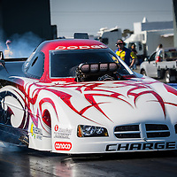 Brian Robinson (4877) - Dodge Charger TFX Top Alcohol Funny Car.