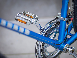 Close-up of retro styled bicycle