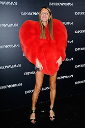Anna Dello Russo attending the Emporio Armani show as a part of Paris Fashion Week Ready to Wear Spring/Summer 2017 in Paris, France on October 03, 2016. Photo by Aurore Marechal/ABACAPRESS.COM